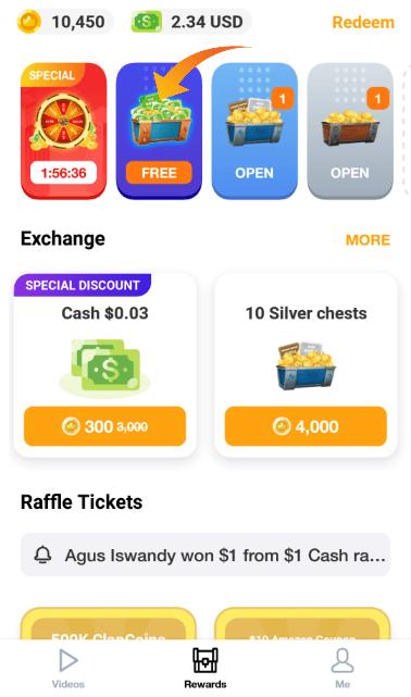 Clipclaps App